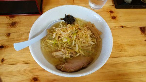 「ネギ塩ラーメン¥853-」@中華蕎麦 みやまの写真