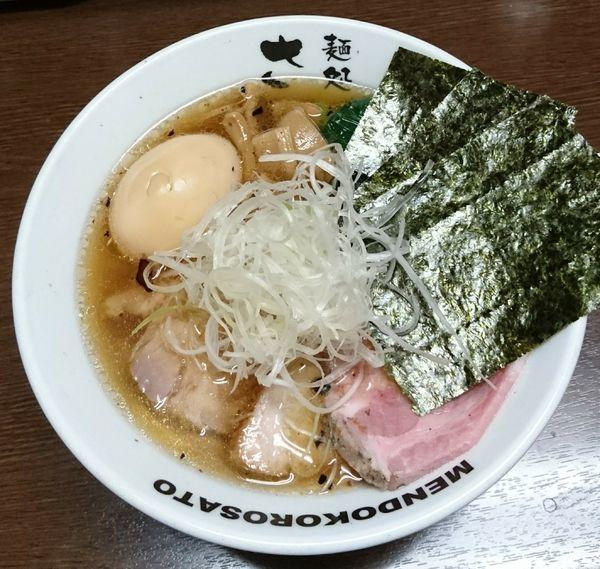 「豊魚鶏だし特製醤油ラーメン」@麺処 さとうの写真