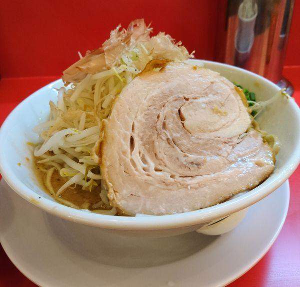 「味噌まぜそば300g普通」@自家製麺 ダイサンの写真