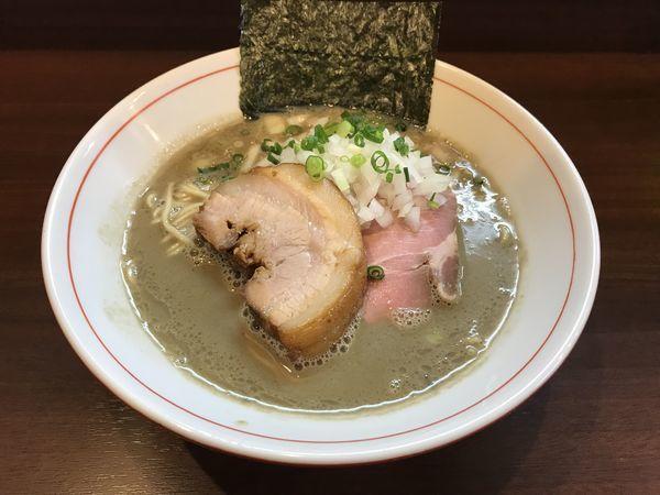 「濃厚煮干し蕎麦」@零一弐三の写真