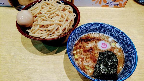「つけめん+味玉(クーポンサービス)」@くり山の写真