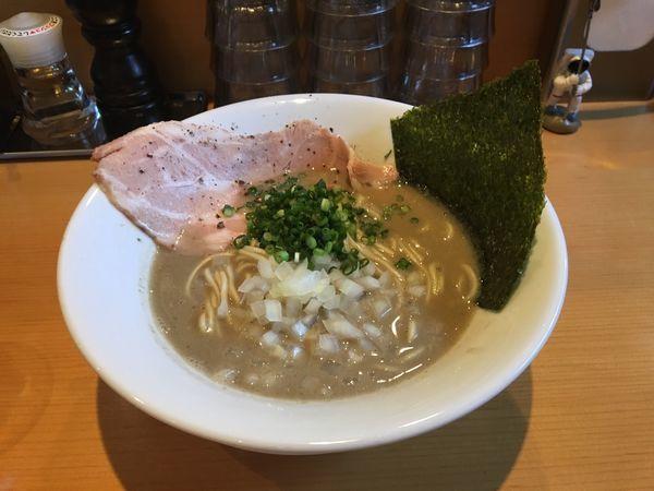 「バカニボ」@麺屋 まほろ芭の写真