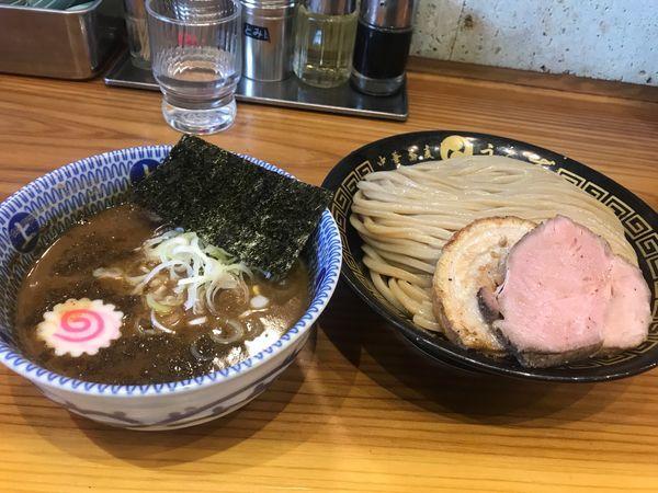 「つけ麺(大)」@中華蕎麦うゑずの写真