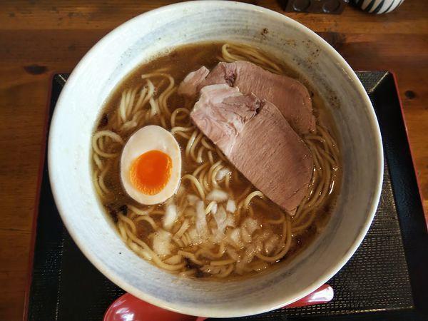 「煮干そば 中盛 (600+50)」@高級煮干し 別品の写真