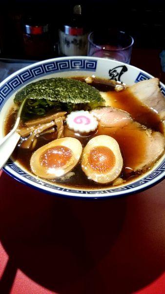 「醤油ラーメン(700円)+味玉(100円)」@風は南からの写真