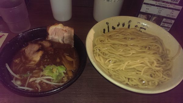 「つけ麺、特盛、半チャーシュー」@つけ麺 小川流 多摩貝取店の写真