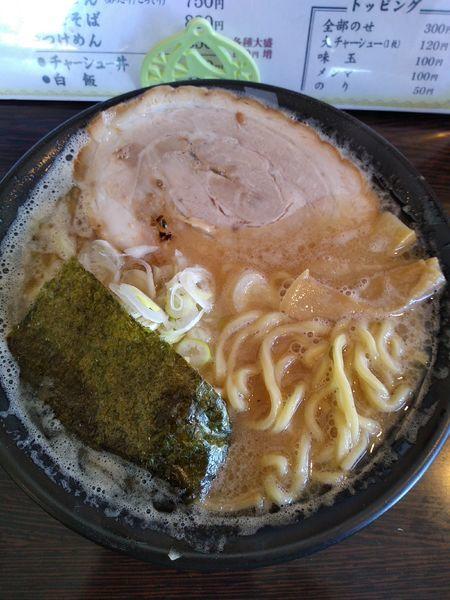 「らーめん (こってり) 750円」@麺屋 一心の写真