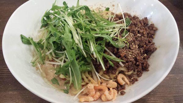 「汁なし担々麺(ライス付)880円」@麺処 井の庄の写真