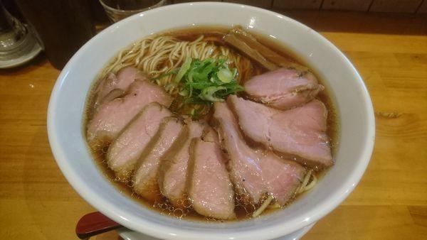 「醤油+チャーシュー+麺大盛」@麺庵ちとせの写真