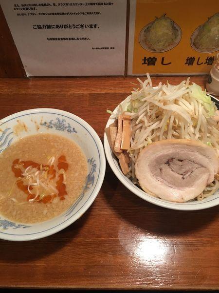 「冬期限定みそつけ麺」@ラーメン大 荻窪店の写真
