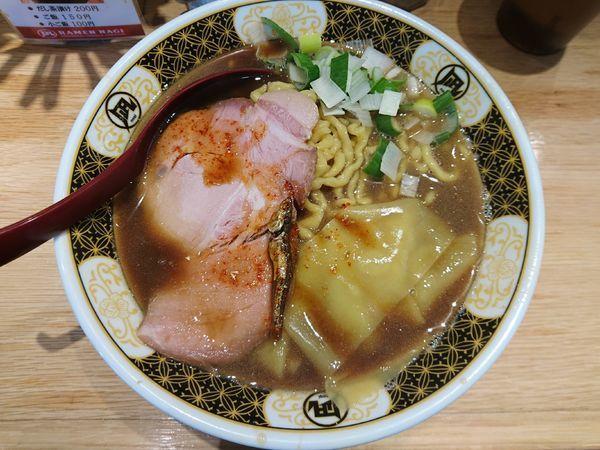 「すごい煮干ラーメン(中、硬め)」@すごい煮干ラーメン凪 池袋西口店の写真
