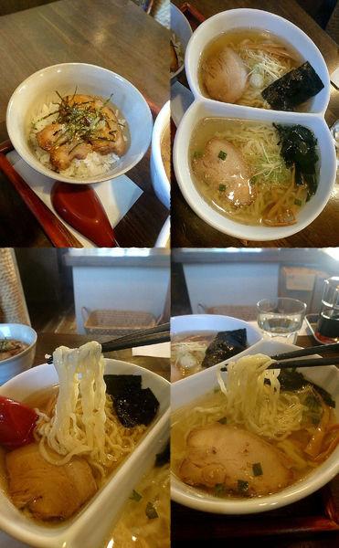 「『しょうゆとしおのにこいち(税込¥800)』」@ラーメン厨房 ぽれぽれの写真