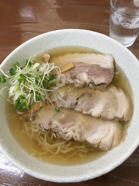 「チャーシュー麺 930円」@手打ラーメン まるいちの写真