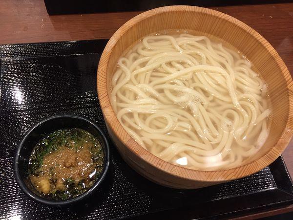 「釜揚げうどん(大)¥390→(半額の日¥190)」@丸亀製麺 大宮すずらん通り店の写真