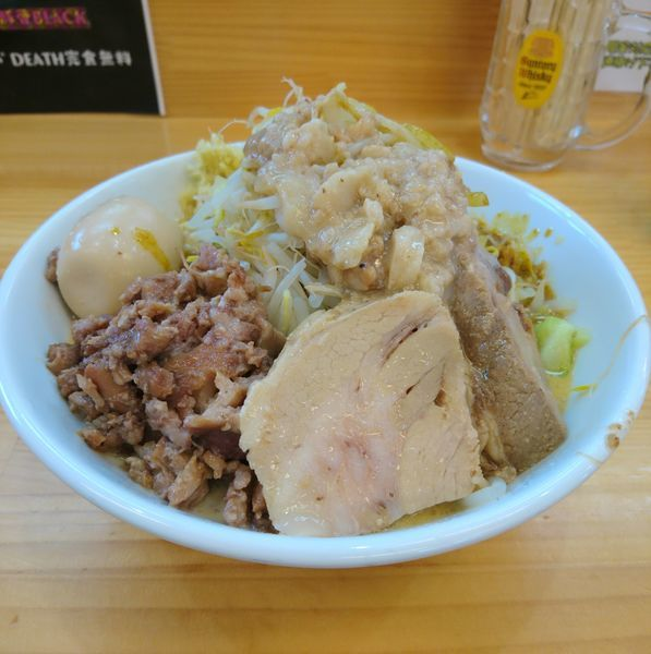 「豚味噌カレー 豚増し ショウガ」@宮二郎の写真