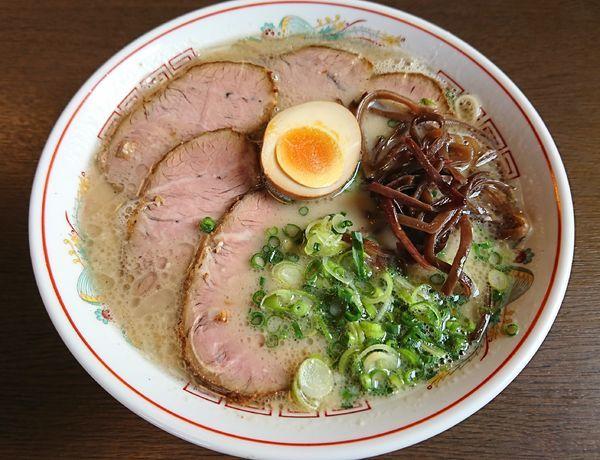 「福岡久留米チャーシュー麺(980円)」@ラーメン 育元 吉見店の写真