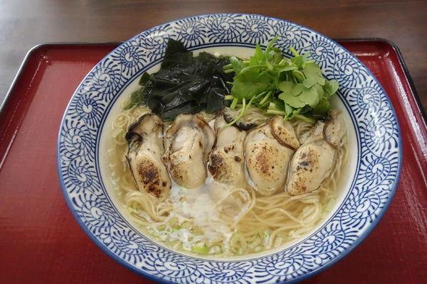 「【限定】炙りかき潮麺」@潮の音の写真
