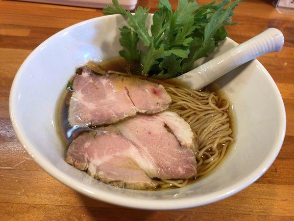 「醤油らーめん」@極汁美麺 umamiの写真