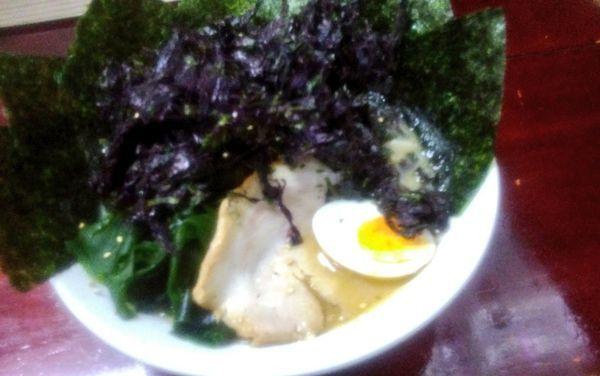 「のりバカラーメン」@九州大分ラーメン 麺恋亭 中華街店の写真