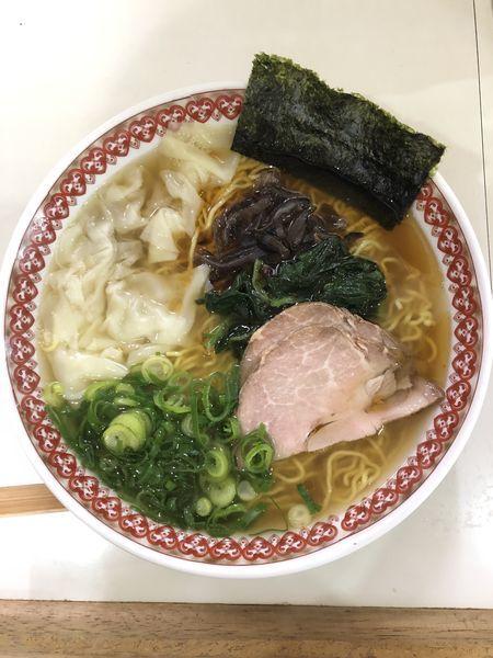 「煮干し中華そば」@麺肴ひづき あさのやの写真