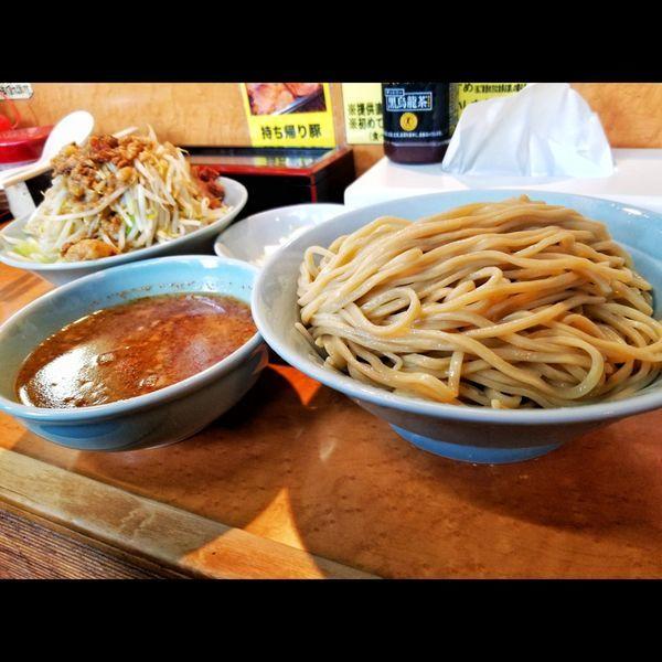 「大つけ麺」@立川マシマシ ロイヤルスープの写真