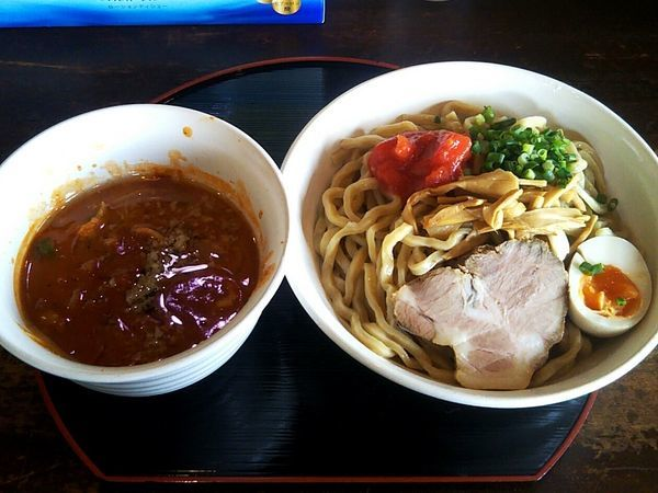 「トマ味噌つけめん¥800」@麺や 小五郎の写真