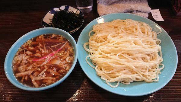 「特つけそば(大盛) 900円 + 刻み海苔 (ラーパス)」@つけそば 麺吉の写真