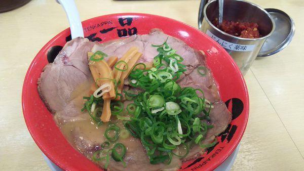 「チャーシュー麺(こってり)¥920」@天下一品 関内店の写真
