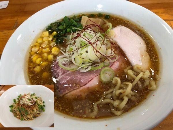 「【期間限定】地鶏味噌そば800円、坦々和え玉300円」@麺屋 むじゃきの写真