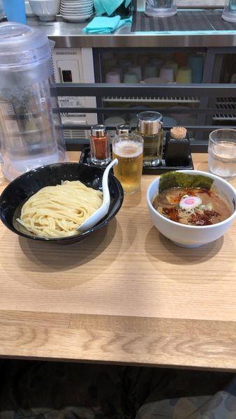 「つけ麺」@UNDER GROUND RAMEN 頑者 グランエミオ所沢店の写真