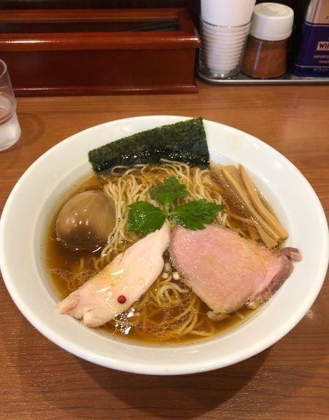 「味玉醤油ラーメン ¥850」@中華そば 七麺鳥の写真