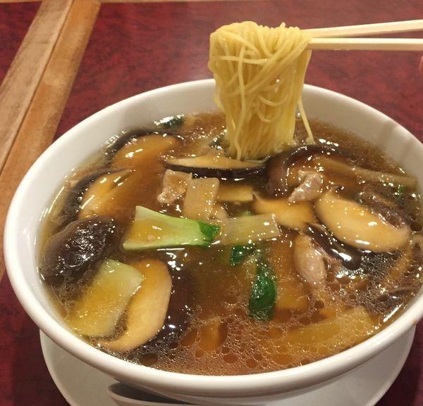 「香菇麺(椎茸うま煮そば)870円」@華吉の写真