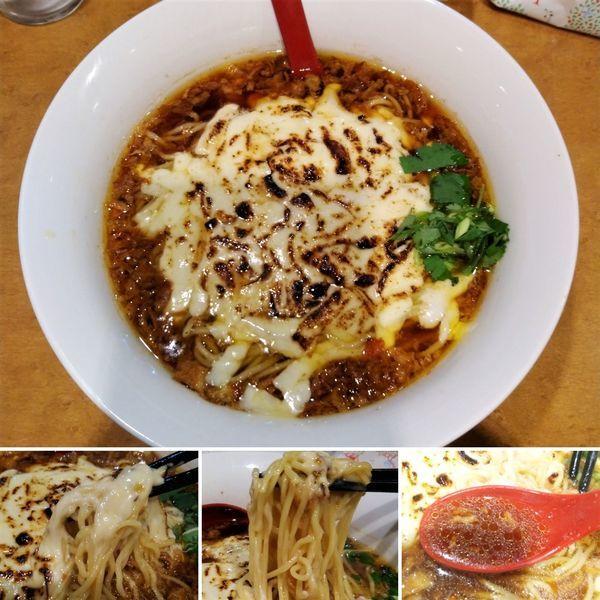 「オニオングラタンラーメン(冬季限定)  980円」@麺屋 紅の写真