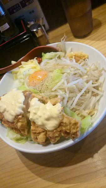 「まぜそば   750円」@中華蕎麦 つけ麺 五味五香の写真