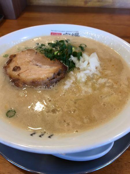 「魚鶏豚骨の味噌」@極上拉麺専門店 穴場の写真