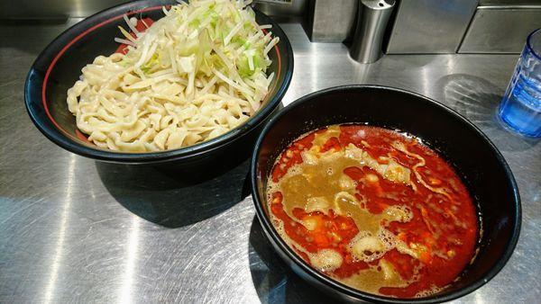 「【限定】紅つけ麺」@麺創研 紅の写真