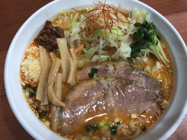 「辛みそラーメン800円」@麺厨房 武蔵の写真