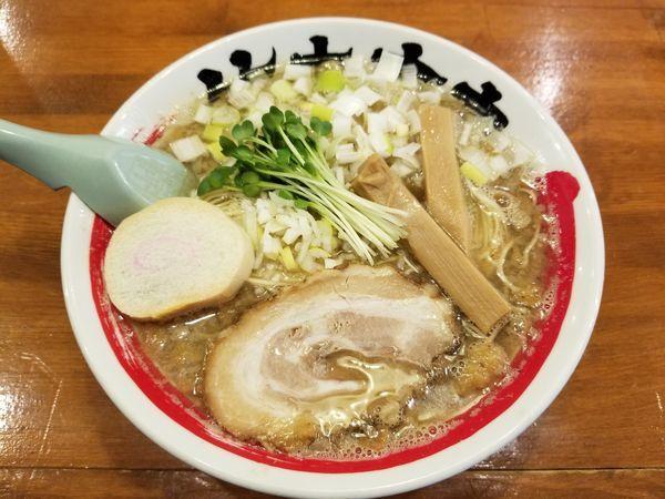 「煮干しラーメン」@竹本商店 煮干センター アジトの写真