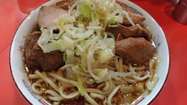 「豚入りラーメン」@ラーメン二郎 仙川店の写真