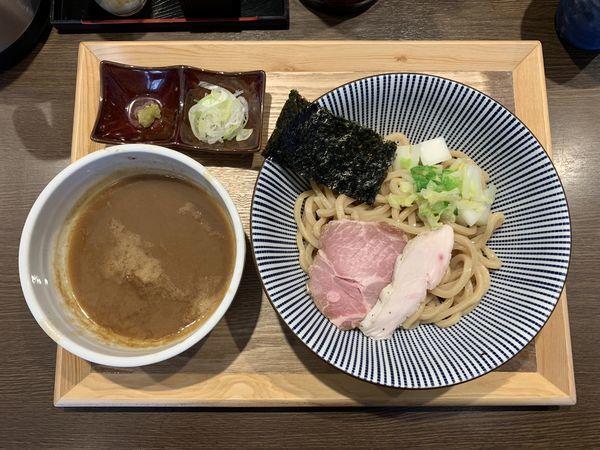 「並盛りつけ麺200g」@長男、もんたいちおの写真