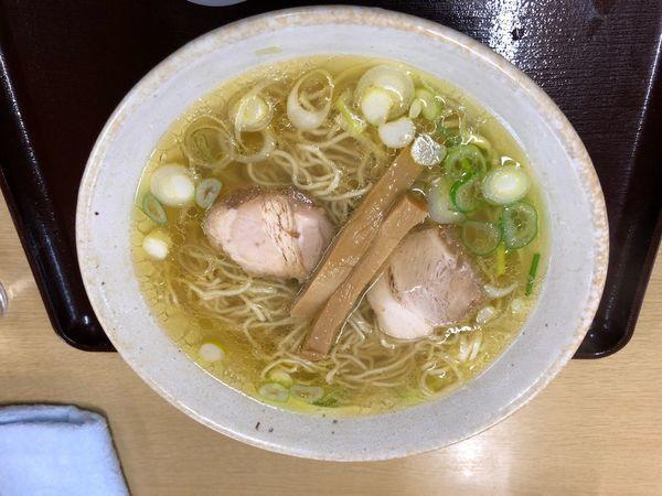 「塩ラーメン 600円」@中華そば 弥太郎の写真