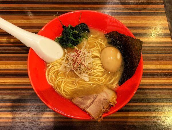 「味玉ラーメン」@RAMEN DINING JinGuの写真