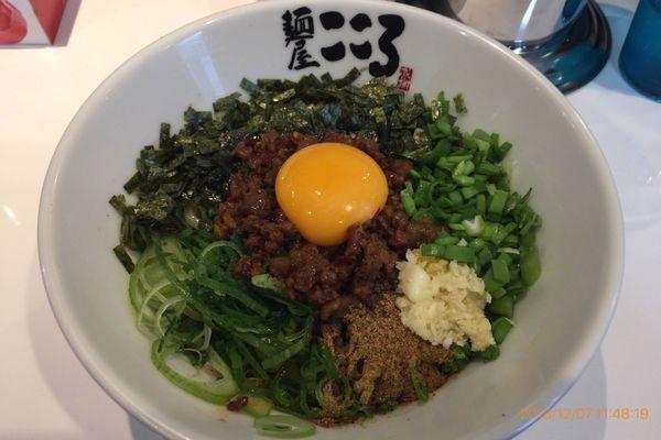 「台湾まぜそば 500円(オープン記念価格)」@麺屋こころ 船橋店の写真