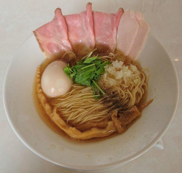 「特製煮干しそば」@noodle kitchen KYOの写真