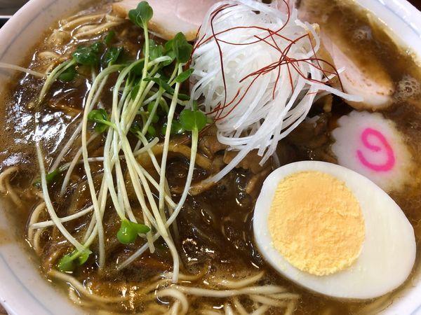 「カレーらーめん(細麺)(中)」@東池袋大勝軒 神奈川新町店の写真