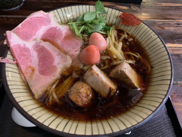 「らーめん 全部入り」@仮麺中(ぬちぐすい)の写真