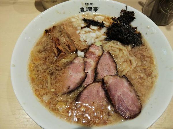 「中華そば(¥750)」@麺工 豊潤亭の写真