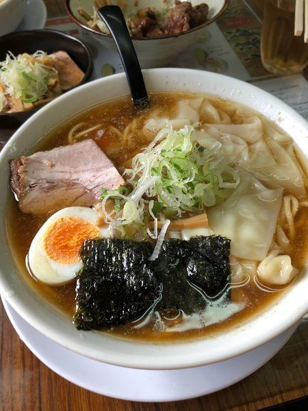 「ワンタン麺」@東池大勝軒おはこ 八千代店の写真