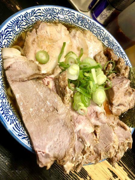 「【11周年限定】武蔵野麦豚チャーシュー麺 大盛り ¥1500」@狼煙 〜NOROSHI〜の写真