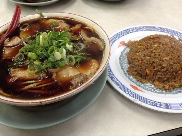 「肉多目+ヤキメシ」@新福菜館 本店の写真
